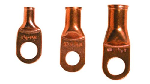 Install Bay Copper Ring Terminal 8 Gauge 3/8 Inch 25 Pack - CUR838