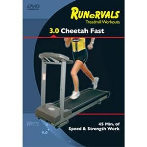 Runervals 3.0 Cheetah Fast! DVD Treadmill Workout by Runervals