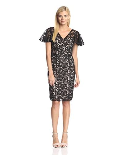 Nue by Shani Women's Sequined Lace Dress