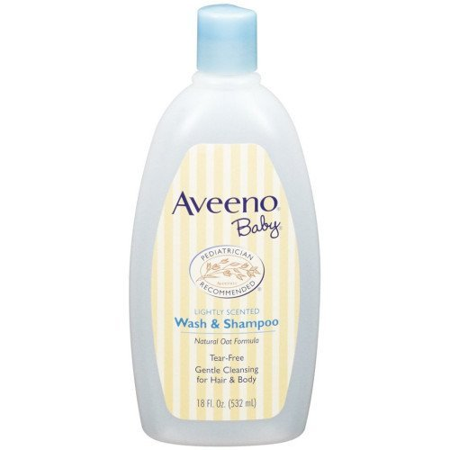 Aveeno Baby Wash and Shampoo - 18 Oz 2/pack
