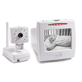 "Summer Infant Day & Night Baby Video Monitor with 5"" Screen - White"