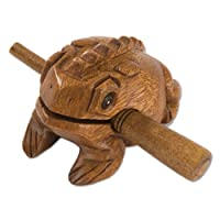 Percussion Plus Frog Guiro from Percussion Plus