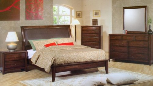 Hillary King Size Six Piece Bedroom Set
