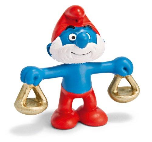 Schleich Libra Papa Smurf Figure - 1