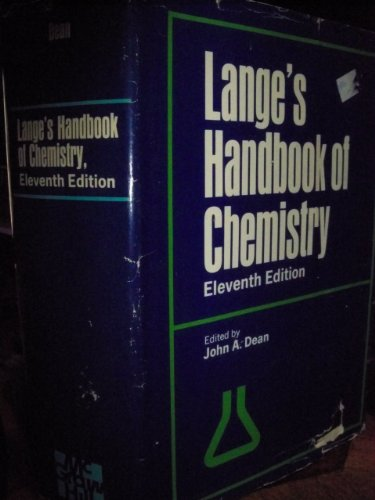 Langes Handbook Of Chemistry 11Th Ed front-917940