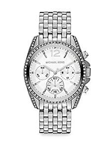 Michael Kors MK5834 Pressley Silver Stainless Steel Ladies Watch