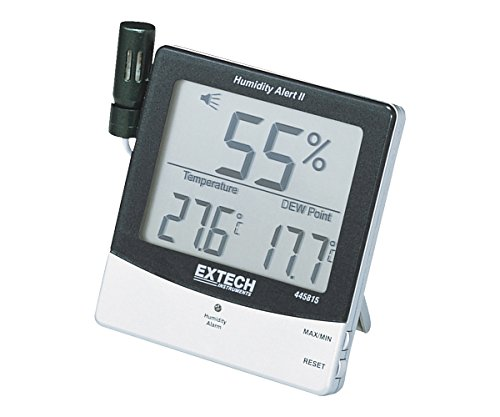 Extech 445815 Humidity Meter with Alarm and Remote Probe - 1