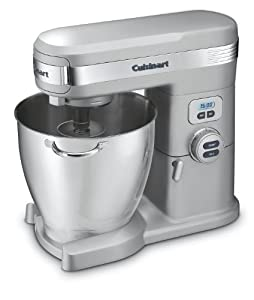 Cuisinart SM-70BC 7-Quart 12-Speed Stand Mixer, Brushed Chrome by Cuisinart