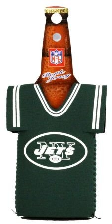 NEW YORK JETS NFL BOTTLE JERSEY KOOZIE COOZIE COOLER at Amazon.com