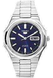Seiko Men's SNKK45 5 Stainless Steel Blue Dial Watch