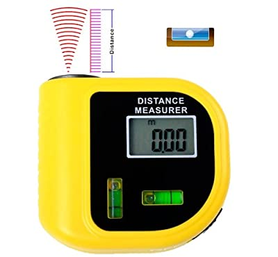 Handheld Ultrasonic Distance Meter With laser point aiming STCP3010,For Industrial and HomeTesting