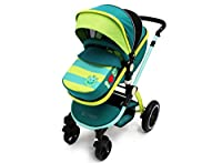 i-Safe System - Lil Friend Trio Travel System Pram & Luxury Stroller 3 in 1 Complete With Car Seat from iSafe