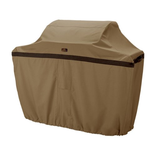 Cart BBQ Patio Cover - Tan, Fits Large BBQ Carts Up To 64In.L X 24In.D X 48In.H