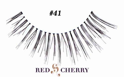 red cherry lashes Red Cherry #41 False Eyelashes (Pack of 6)
