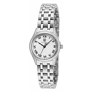 Invicta S. Coifman SC0340 26mm Silver Steel Bracelet & Case Mineral Women's Watch