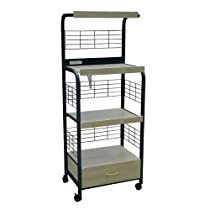 Metal Microwave Cart
