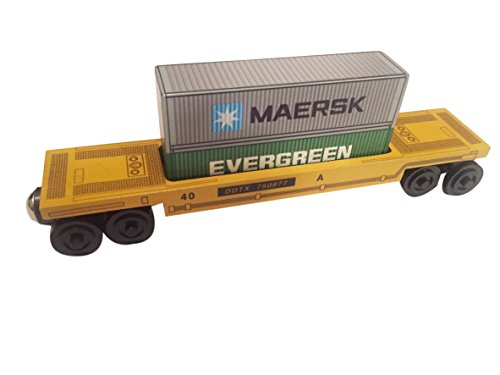 doublestack-car-evergreen-maersk-wooden-toy-train-by-whittle-shortline-railroad-manufacturer