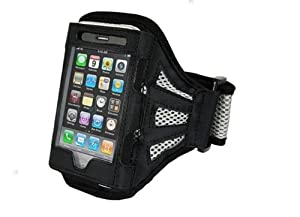 Durable, lightweight armband case for iPod Touch iPhone 3G 3GS,Black
