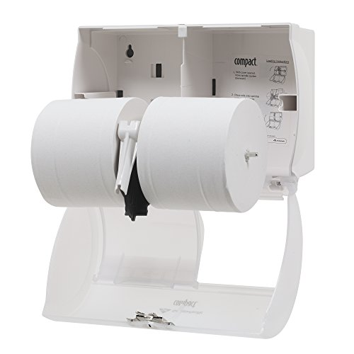 georgia pacific compact toilet paper dispenser instructions
