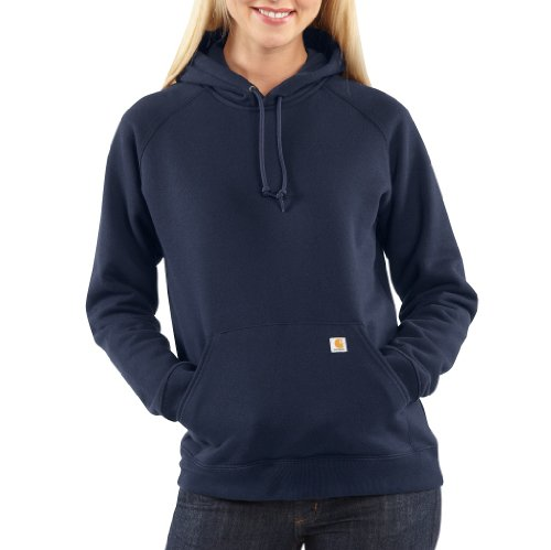 Carhartt Womens Hooded Pullover Sweatshirt,Navy  (Closeout),XX-Large (Insulated Carhartt Hoodie compare prices)