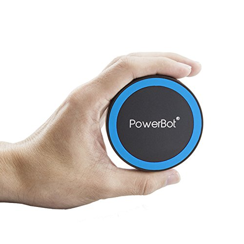 Powerbot® Pb1020 Qi Enabled Wireless Charger Inductive Charging Pad Station For All Qi Standard Compatible Devices Including Samsung, Iphone, Nokia, Google, Nexus, Lg, Htc And Other Smartphones With Receivers (Ac Adapter Excluded. 2 X Micro Usb Cable Incl