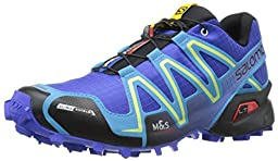 Salomon Women\'s Speedcross 3 CS W Trail Running Shoe, Cobalt/Blue Line/Black, 7.5 B US