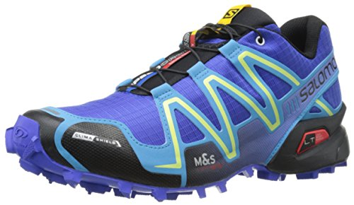 Salomon Women's Speedcross 3 CS W Trail Running Shoe, Cobalt/Blue Line/Black, 10 B US (Speedcross Cs Salomon compare prices)