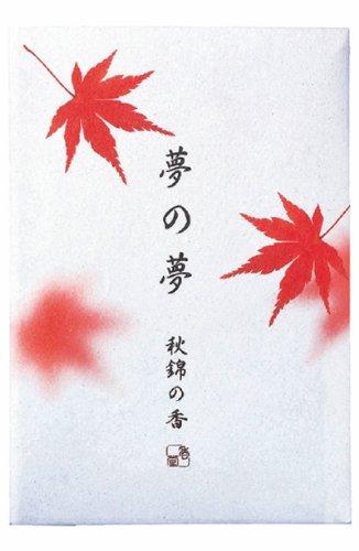 Yume-no-yume - Autumn - Maple Leaf Incense 12 Sticks