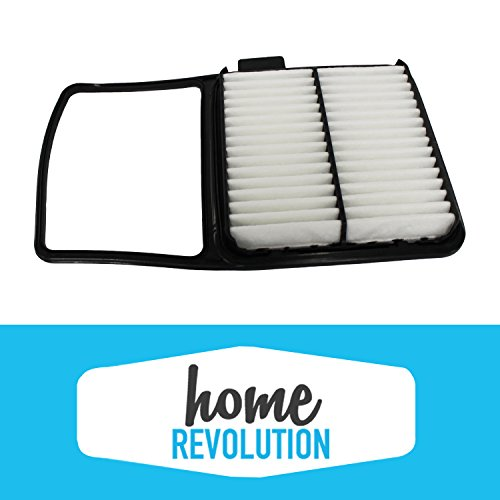 Cabin Rigid Air Panel Filter Compare to A25698 & CA10159; Home Revolution Brand Replacement Made to Fit Toyota Prius Hybrid