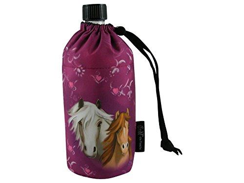 Emil die Flasche - Porta bottiglia di vetro organico, 0,4 litri