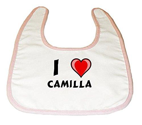 baby-latzchen-mit-ich-liebe-camilla-vorname-zuname-spitzname