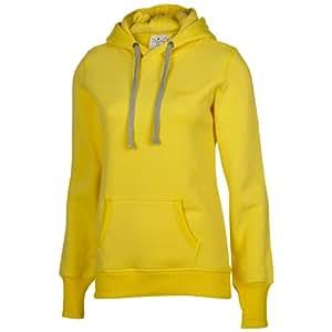 Chiemsee Sweat-shirt pour fille Erja J Jaune/noir Jaune 7 ans