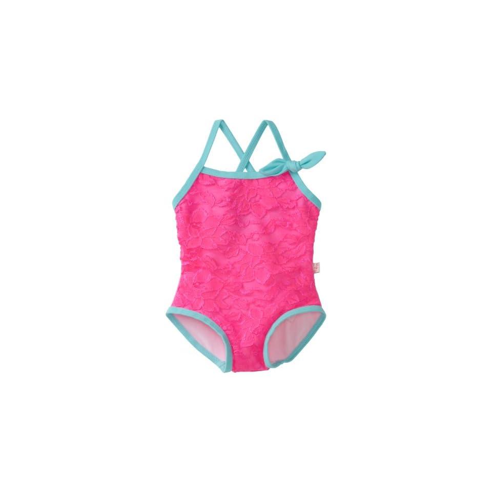 Floatimini Baby Girls Sweet Lace Bathing Suit