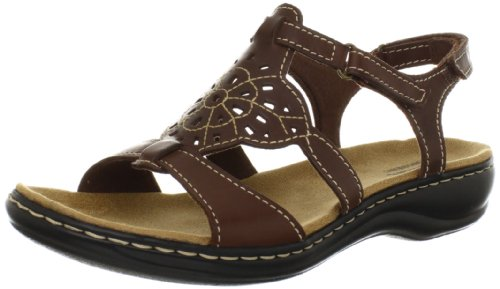 Clarks Womens Leisa Taffy Sandal