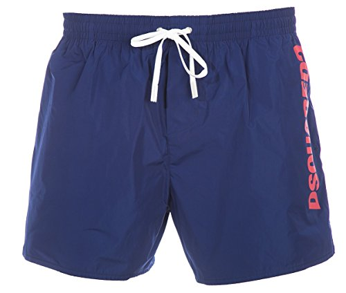 Dsquared2 Swim Logo corta Blue Large