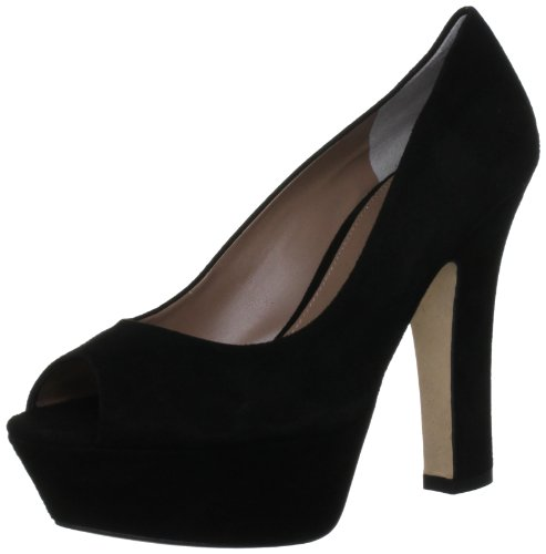 Pied A Terre Women's Black Open Toe CALLA 7 UK