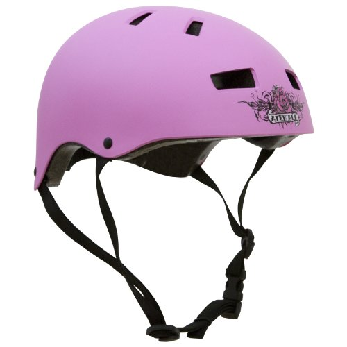Airwalk Regular Skate Helmet (Pink, Small)