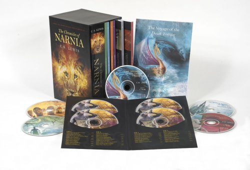 Cover of Chronicles of Narnia Book and Audio Box Set (The Chronicles of Narnia)