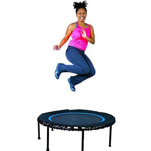 Leaps & ReBounds (Bungee) Fitness Rebounder - Exercise Trampoline (blue, 40)