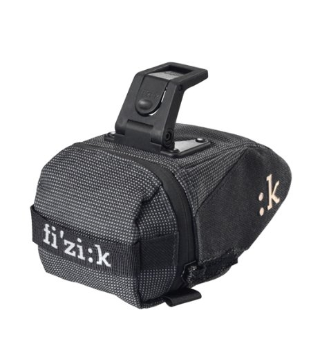Fizik Bicycle Saddle Bag with Integrated Clip (Medium)