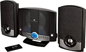 GPX HM3817DTBLK Vertical Home Music System with CD Player (Black)