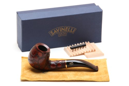 Savinelli Alligator Brown 677 Tobacco Pipe