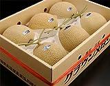 □最高峰メロンの箱売り 静岡産 クラウンメロン 6玉 白以上 (正箱:7kg以上) ランキングお取り寄せ