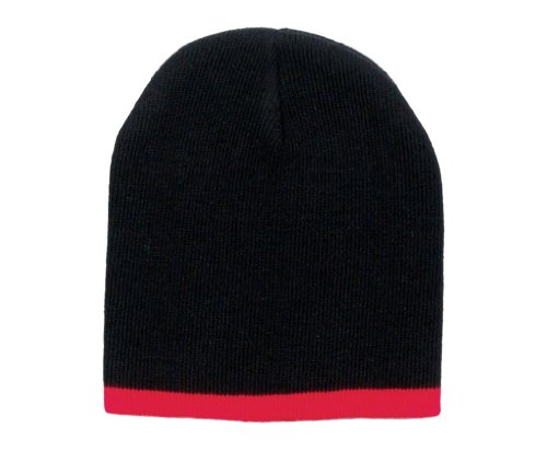Simplicity 6 Pcs Two Color Winter Warm & Soft Knit Beanie Cap