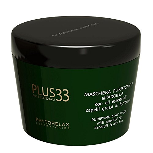 Phytorelax Plus 33 Maschera Purificante All'Argilla 200 Ml