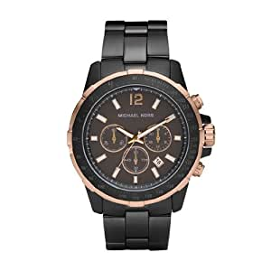 Michael Kors Men's MK8173 Runway Gunmetal and Rose-Tone Watch