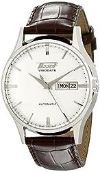 Tissot Men's TIST0194301603101 Heritage Visodate Analog Display Swiss Automatic Brown Watch