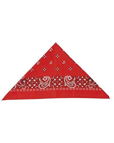 [Bandana - Red Accessory] (Halloween Costumes With Red Bandana)