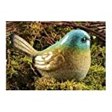 Gift Craft 4.7-Inch Poly Resin Bird Design Figurines, Small