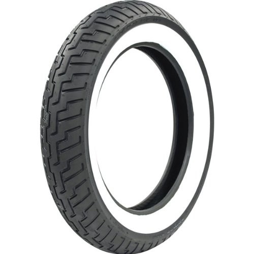Dunlop D404 Front 150 80 16 Wide White Wall Motorcycle